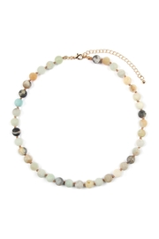 Riah Fashion 8mm Natural-Stone-Necklace - Product Mini Image