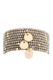 Riah Fashion 9-Line-Glass Beads-Stack-Bracelet - Product Mini Image