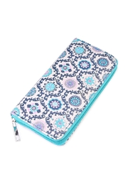 Riah Fashion Abstract Print Wallet - Product Mini Image