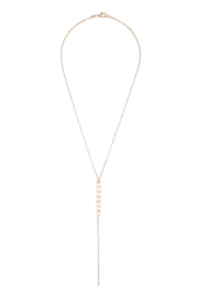 Riah Fashion Acrylic Pearl Necklace - Product Mini Image
