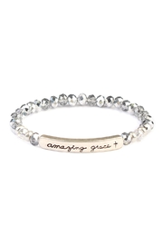 Riah Fashion Amazing Grace Rondelle-Beads-Bracelet - Front cropped