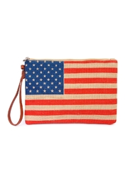 Riah Fashion American Flag Clutch - Product Mini Image