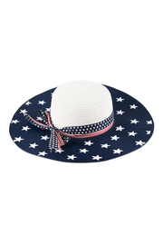 Riah Fashion American-Flag-Floppy-Hat - Front cropped