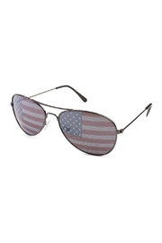 Riah Fashion American Flag Sunglasses - Product Mini Image