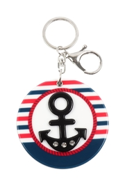 Riah Fashion Anchor W/ Mirror Keychain - Product Mini Image