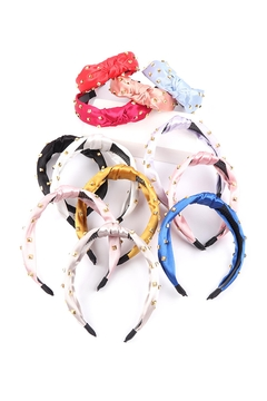 Riah Fashion Assorted-Round-Square-Spike-Head-Band-Hair-Accessories - Alternate List Image