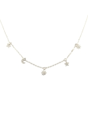 Riah Fashion Astrology Charm Necklace - Front cropped