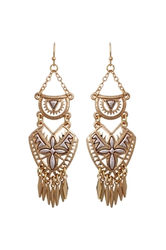 Shoptiques Product: Aztec Chandelier Earrings