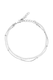 Riah Fashion Ball Bead Anklet - Product Mini Image