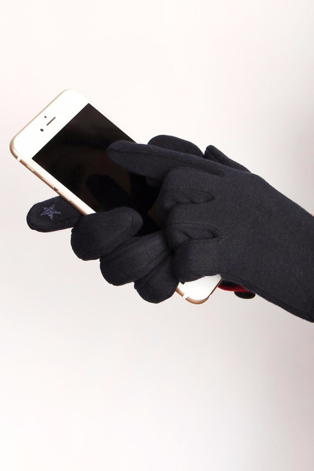 Riah Fashion Basic Smart-Touch Gloves - Front Full Image