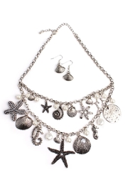 Riah Fashion Beachside Statement Necklace - Product Mini Image