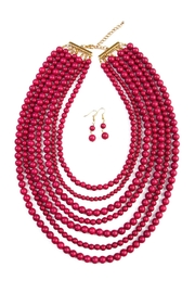 Riah Fashion Bead-Strand Necklace Set - Product Mini Image