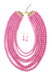 Riah Fashion Bead Strand Necklace Set - Product Mini Image