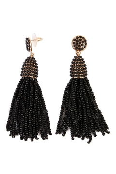 Riah Fashion Bead Tassel Earrings - Product List Image