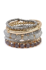 Riah Fashion Beaded Stretch Bracelet - Product Mini Image