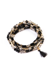 Riah Fashion Beaded Tassel Bracelet - Product Mini Image
