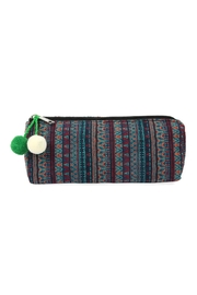 Riah Fashion Beautifully-Weaved Cosmetic Bag - Product Mini Image
