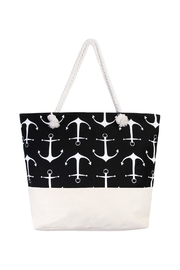 Riah Fashion Big Anchor Jumbo Tote - Product Mini Image