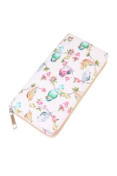 Shoptiques Product: Bird Print Wallet