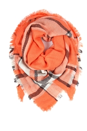 Riah Fashion Blanket Fringe Scarf - Product Mini Image