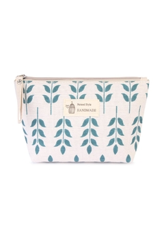 Shoptiques Product: Blue Floral Pouch