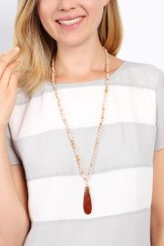 Riah Fashion Bohemian Flare Necklace - Other