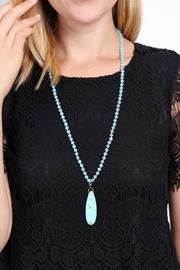 Riah Fashion Bohemian Flare Necklace - Side cropped