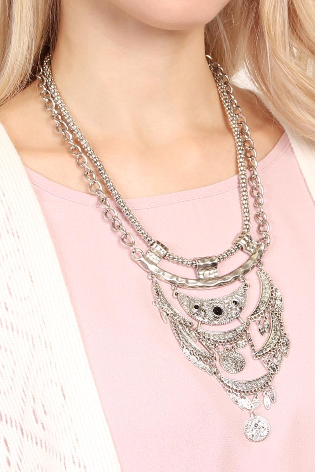 Riah Fashion Bohemian Necklaces - Front Full Image