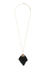 Riah Fashion Boho-Inspired Tassel-Necklace - Product Mini Image