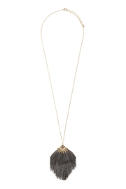 Riah Fashion Boho-Inspired Tassel-Necklace - Front cropped