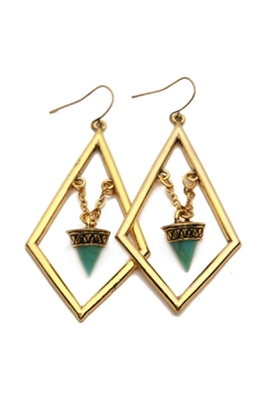 Riah Fashion Boho Statement Earrings - Product List Image