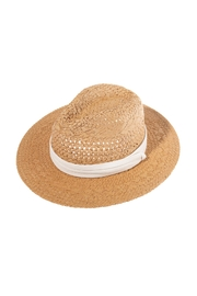 Riah Fashion Brown-Straw-Woven-Lady-Hat - Product Mini Image