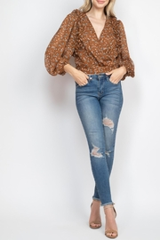 Riah Fashion Brown Top - Other
