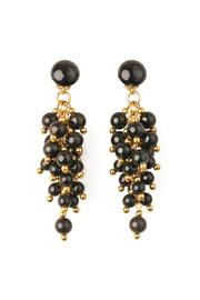 Riah Fashion Bubble Clip Earrings - Product Mini Image