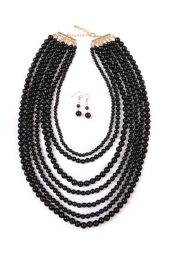 Shoptiques Product: Bubble Strand Necklace Set