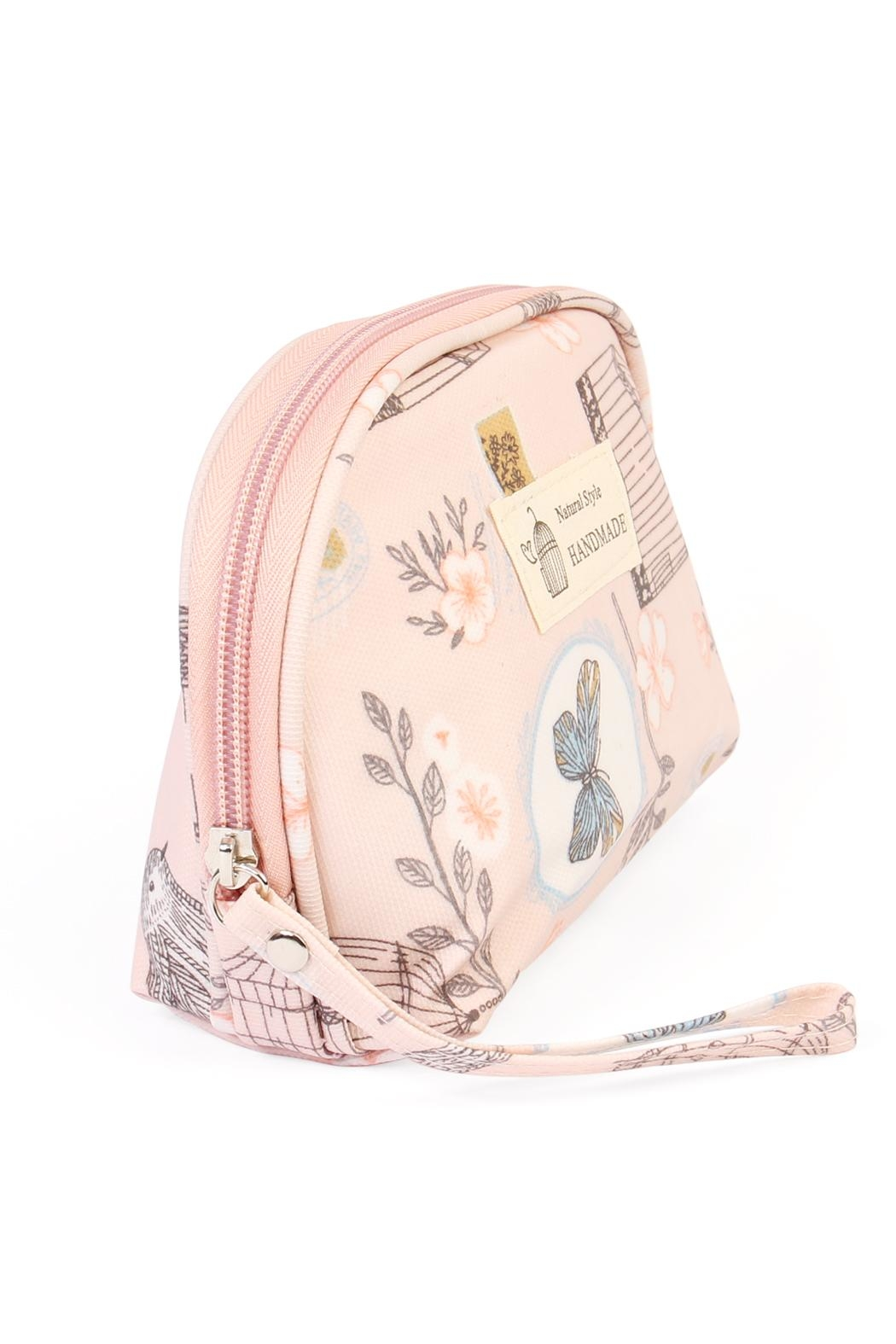 Riah Fashion Butterfly & Birds Petite Bag - Front Full Image