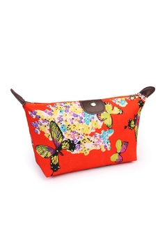 Shoptiques Product: Butterfly Cosmetic Bag