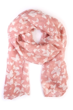Shoptiques Product: Butterfly Oblong Scarf
