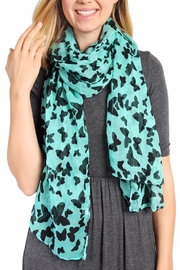 Riah Fashion Butterfly Oblong Scarf - Product Mini Image