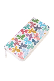 Riah Fashion Colorful Butterfly Print Wallet - Product Mini Image