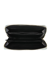 Riah Fashion Camouflage Wallet Woven - Front full body