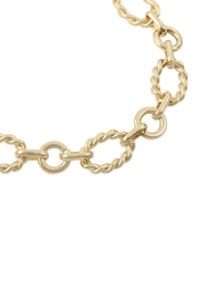 Riah Fashion Chain Link Necklace - Front full body