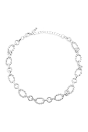 Riah Fashion Chain Link Necklace - Front cropped