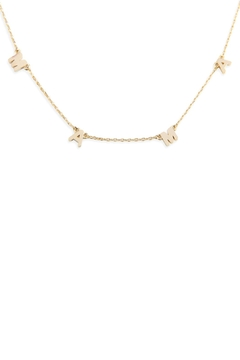 Riah Fashion Chain Necklace - Product List Image