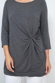 Riah Fashion Charcoal Top - Other