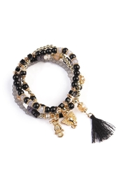 Riah Fashion Charm Stretch Bracelet - Product Mini Image