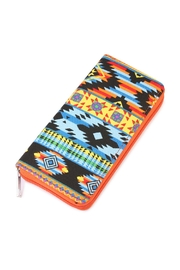 Riah Fashion Chevron Printed Wallet - Product Mini Image