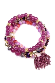 Riah Fashion Chic Beaded Bracelet Set - Product Mini Image
