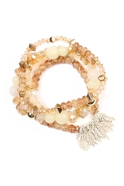 Riah Fashion Chic-Beaded Bracelet Set - Product Mini Image