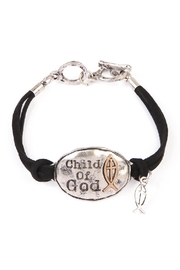 Riah Fashion Child Of God Charm Bracelet - Product Mini Image